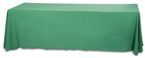 Blank Unprinted Tablecloth for 8 Foot Long Tables
