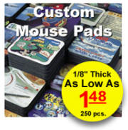 Promotional Mouse Pads - Click Here For Prices And Info