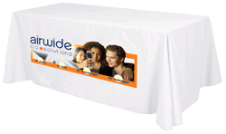 Printed Table Cover For Trade Show