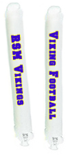 2 colors, 2 sides White Thunder sticks, 2 colors, 2 sides White Thunderstix, 2 colors, 2 sides White cheer sticks